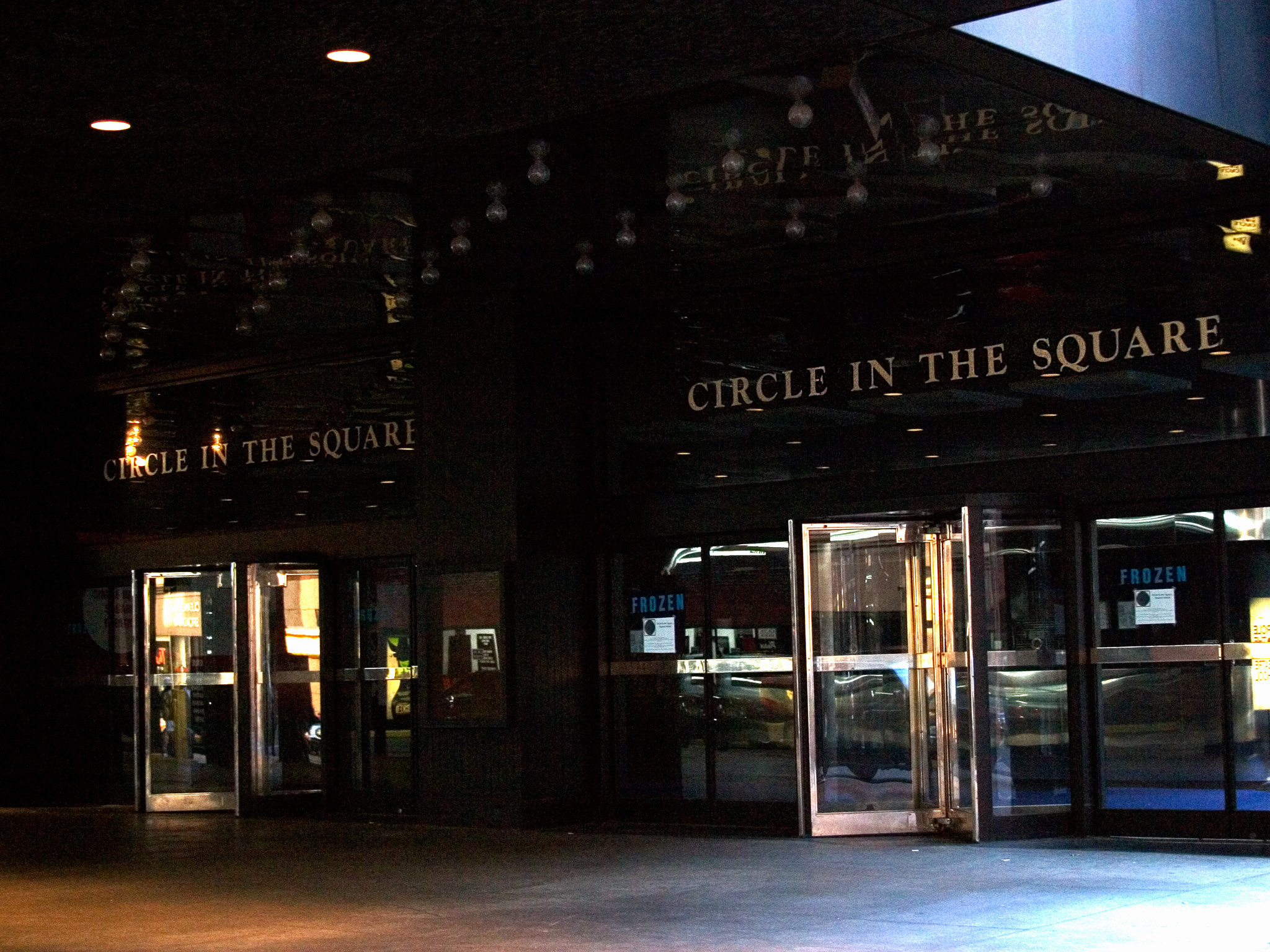 Circle In The Square Theatre on Broadway in NYC