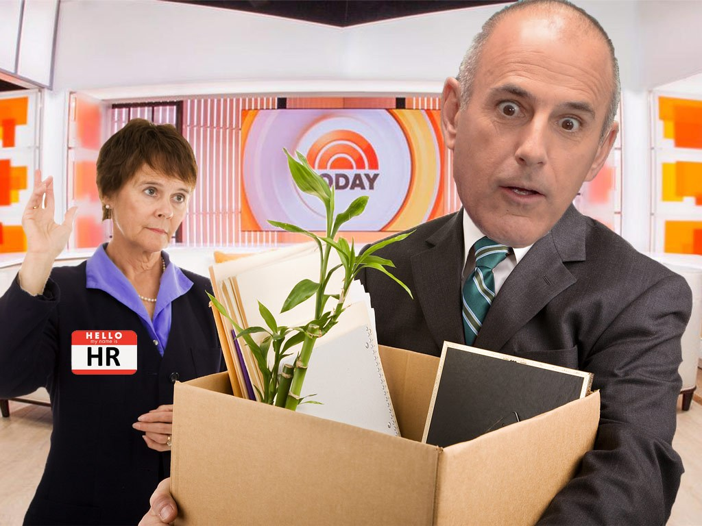 Matt Lauer Fired From The Today Show