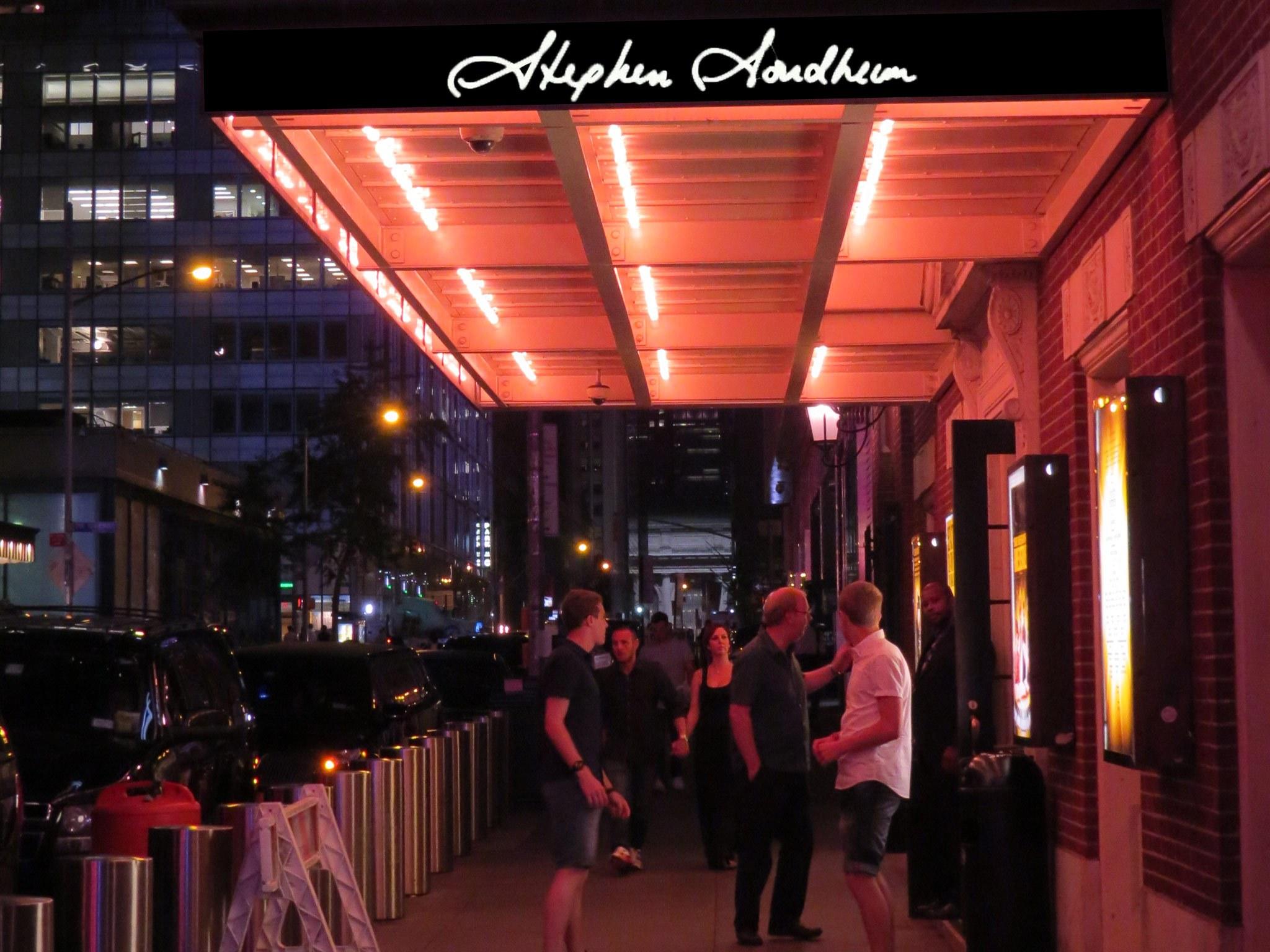 Stephen Sondheim Theatre On Broadway In Nyc