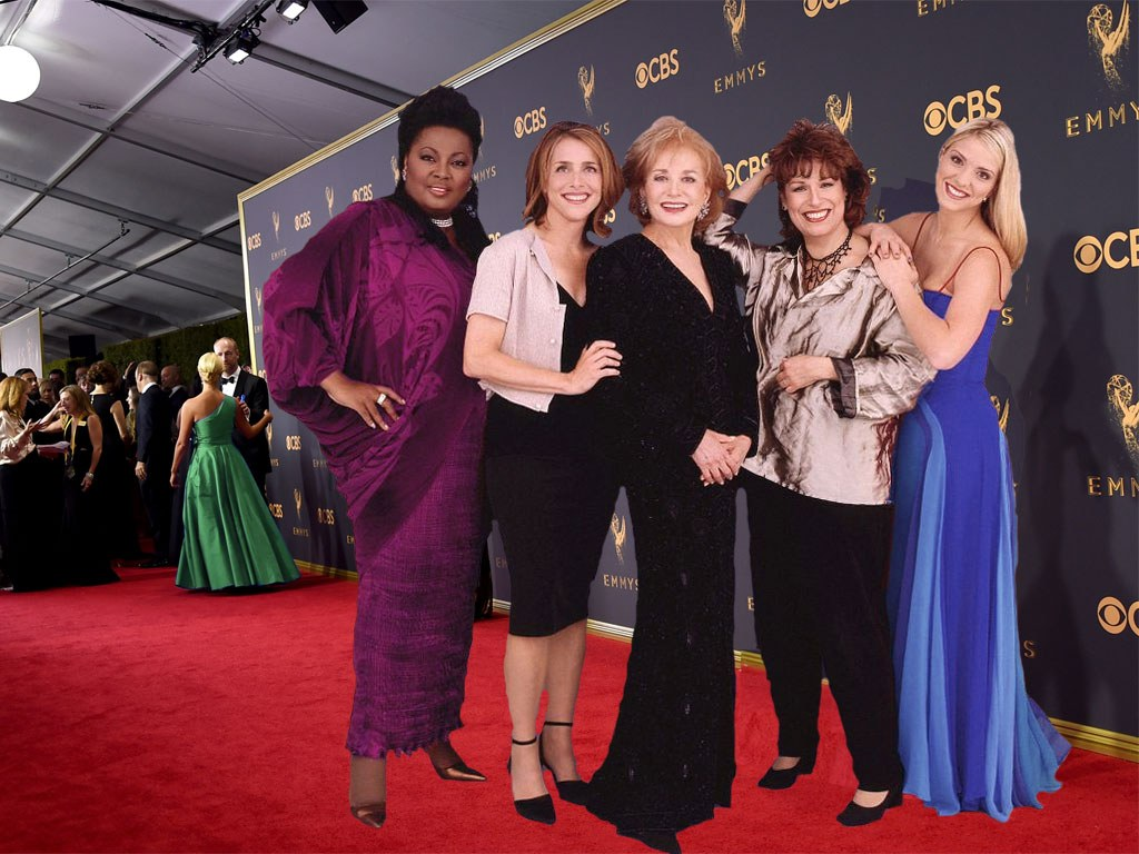 The Original Cast of The View on the Red Carpet