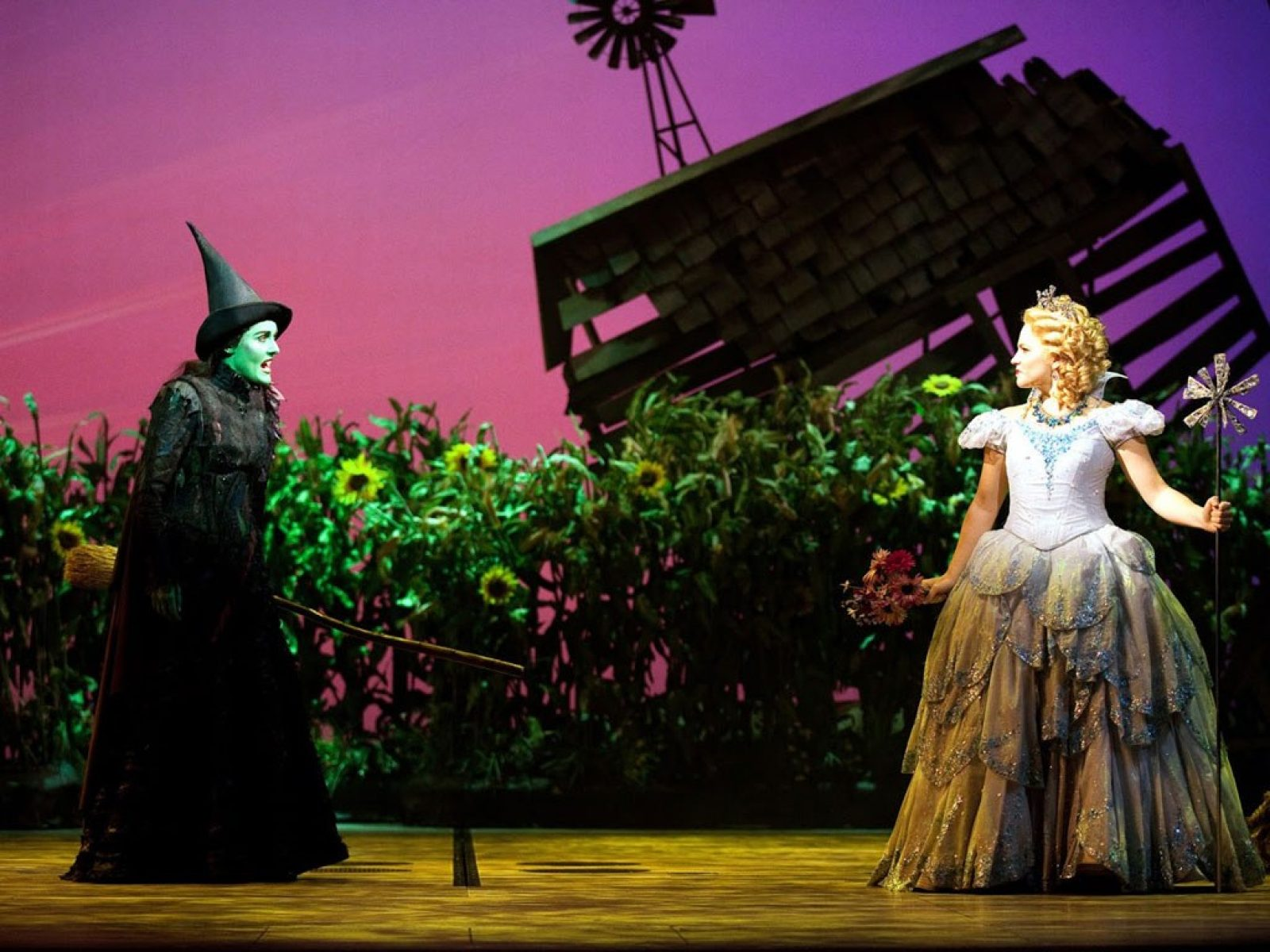 Wicked Tour Schedule