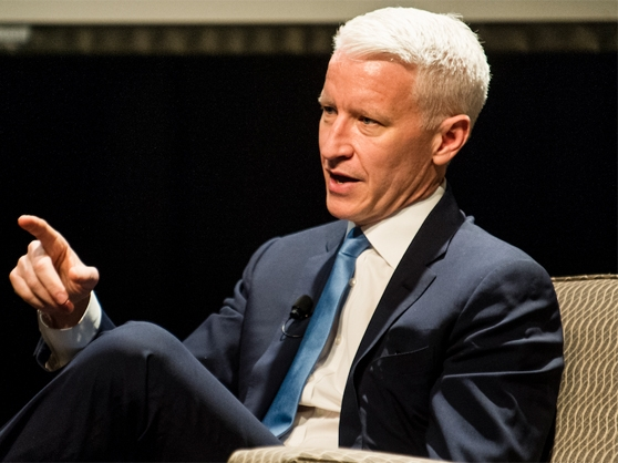 Anderson Cooper sits down for an interview on AC 360