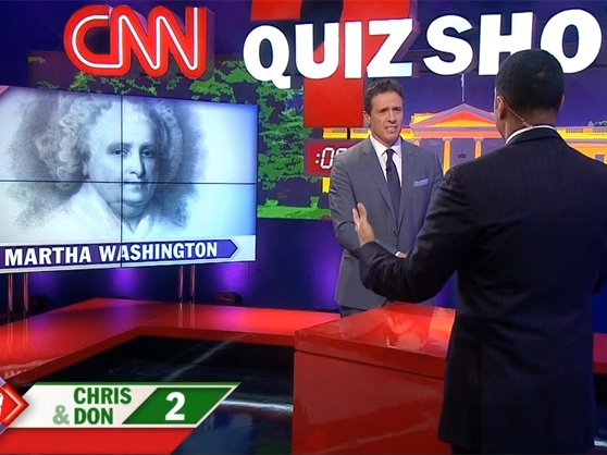 Chris Cuomo and Don Lemon on CNN Quiz Show