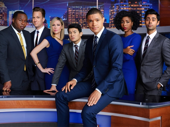 The cast of The Daily Show with Trevor Noah