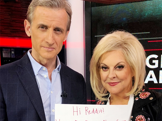 Nancy Grace and Dan Abrams