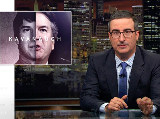John Oliver discusses the Brett Kavanaugh sexual assault allegations