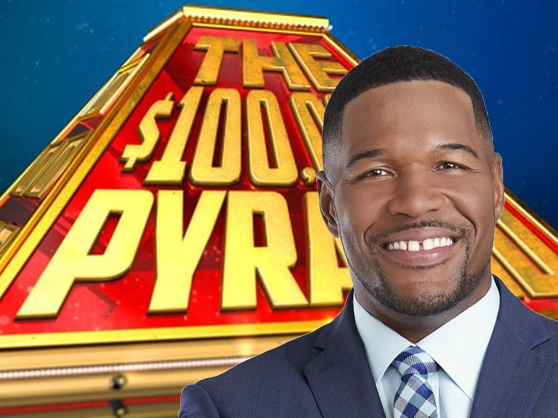 Michael Strahan in $100,000 Pyramid Game