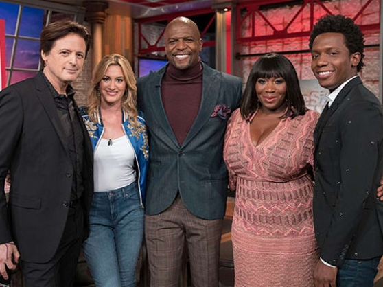 Terry Crews appears on Page Six TV