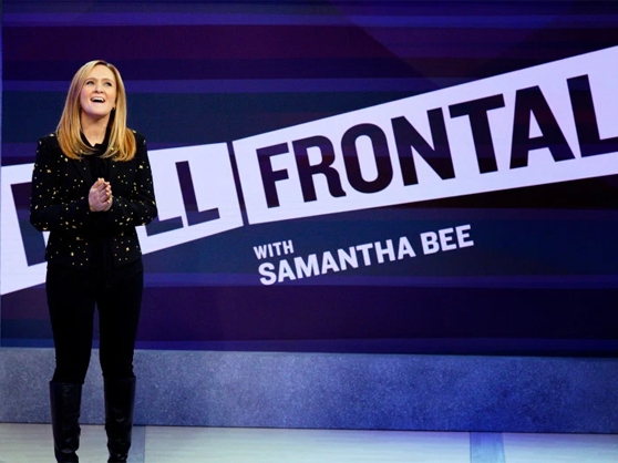 Samantha Bee, formerly a member of The Daily Show, hosts her own weekly show