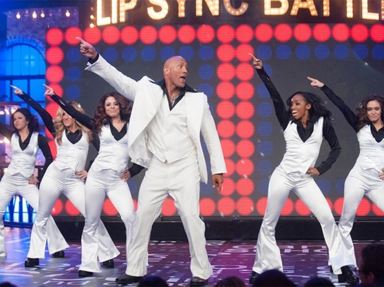 "Lip Sync Battle attracts many stars, including Dwayne ""The Rock"" Johnson"
