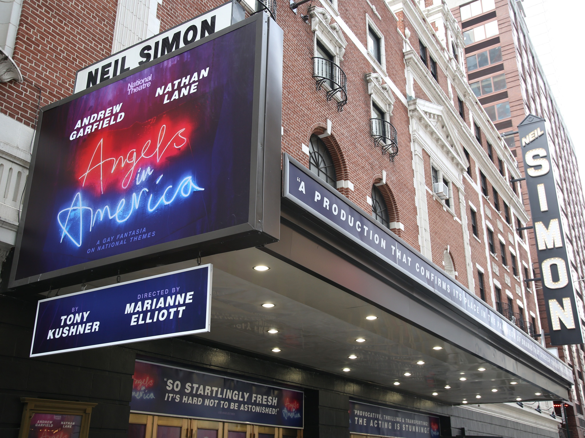 Angels in America Marquee