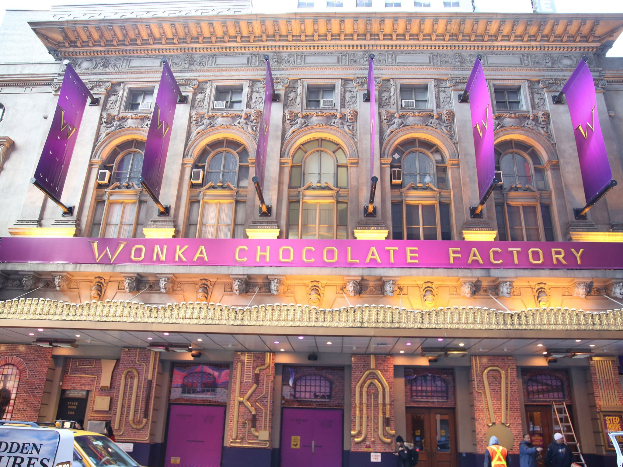 Charlie and the Chocolate Factory Broadway Theatre Marquee