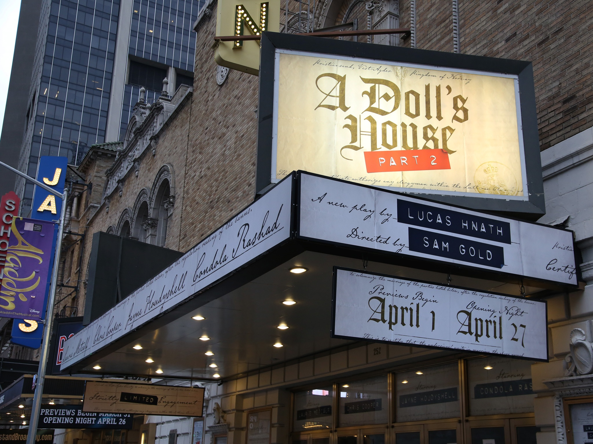 A Doll's House, Part 2 Marquee