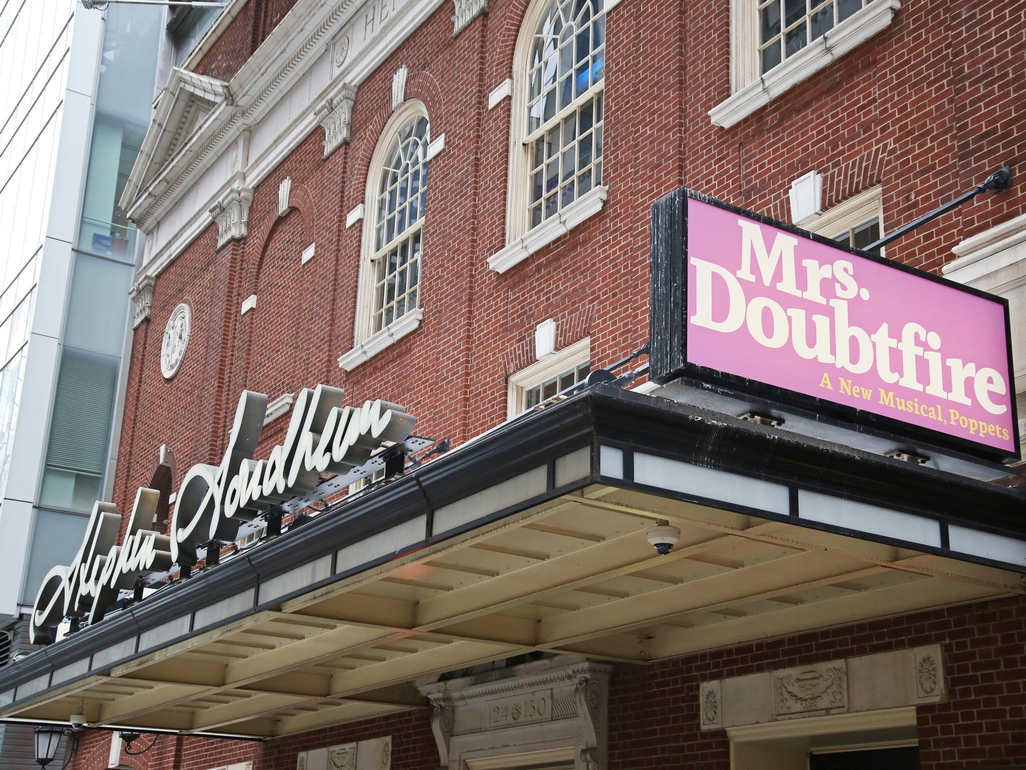Mrs Doubtfire at the Stephen Sondheim Theatre