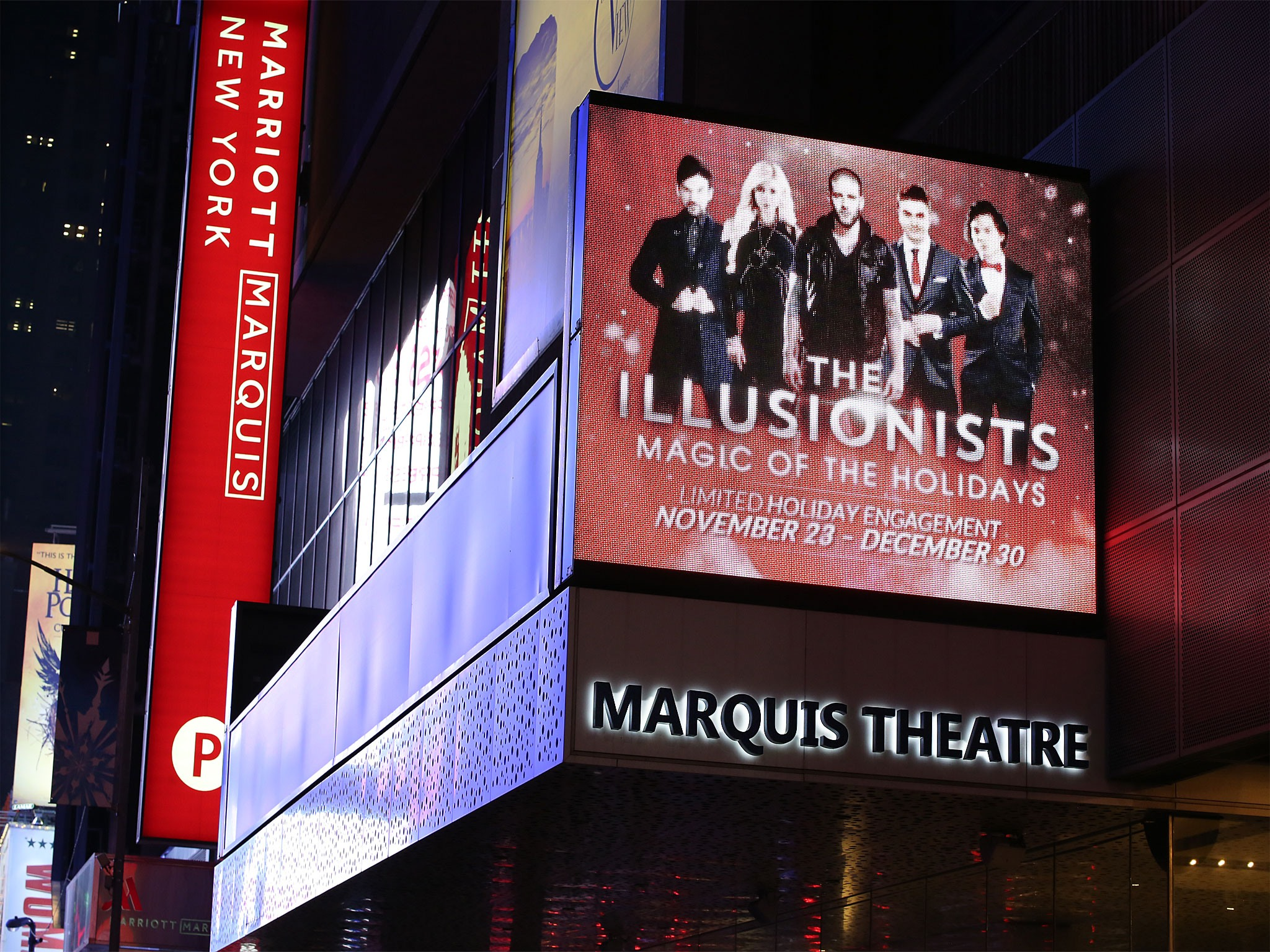 The Illusionists at the Marquis Theatre