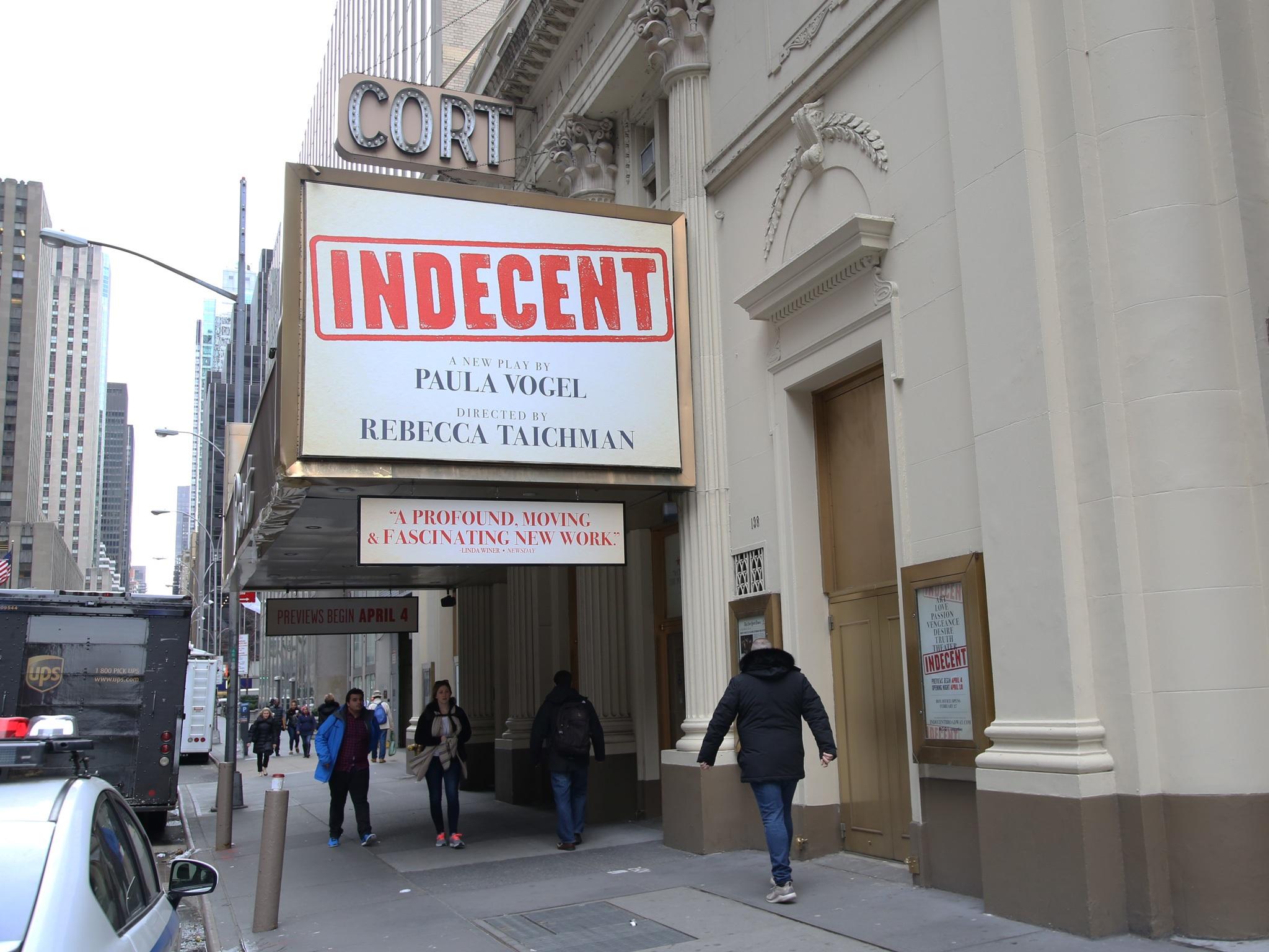 Indecent Marquee