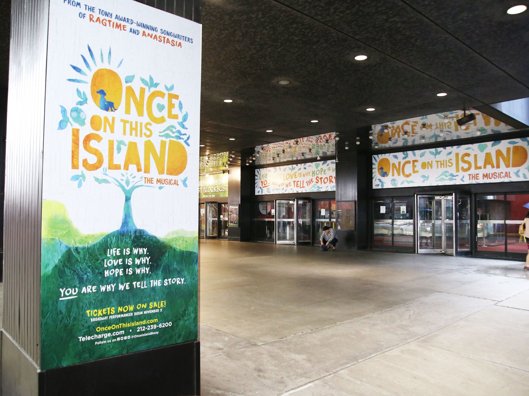 Once On This Island Marquee
