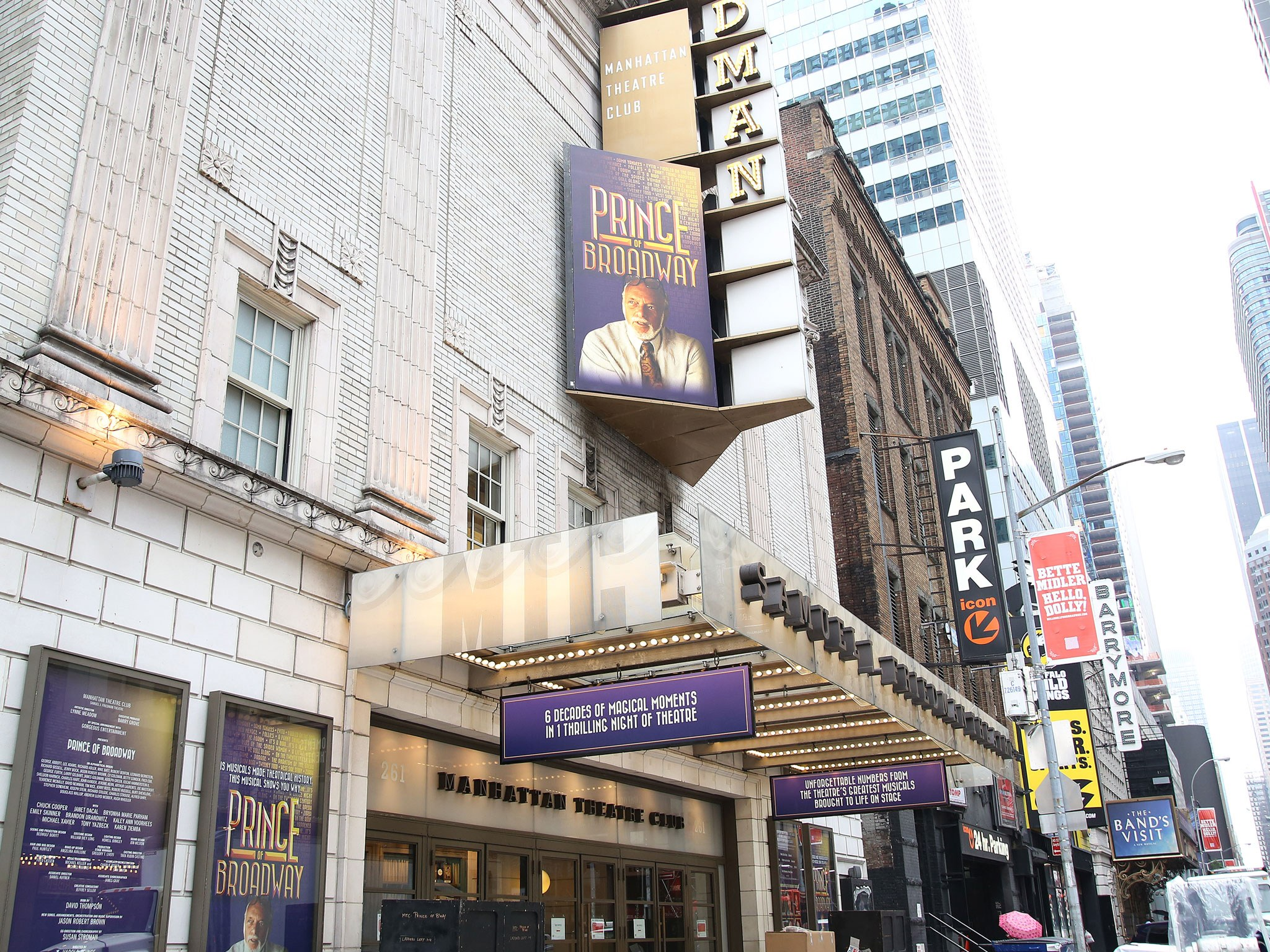 Prince of Broadway Marquee