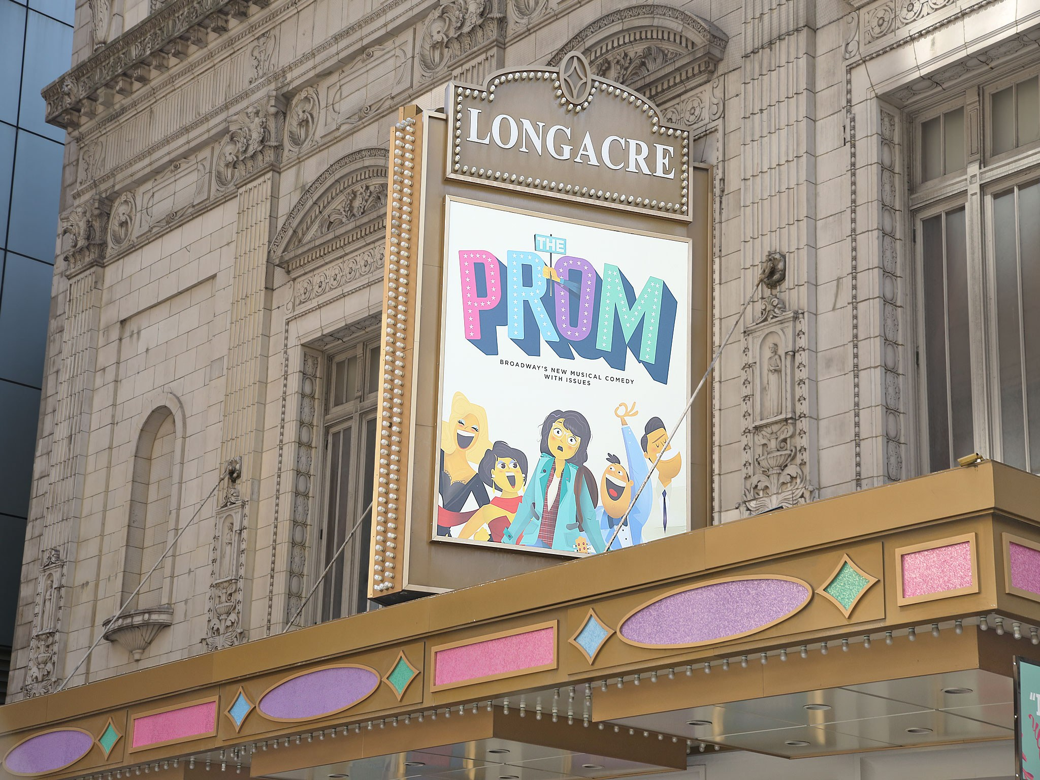 The Prom at the Langacre Theatre