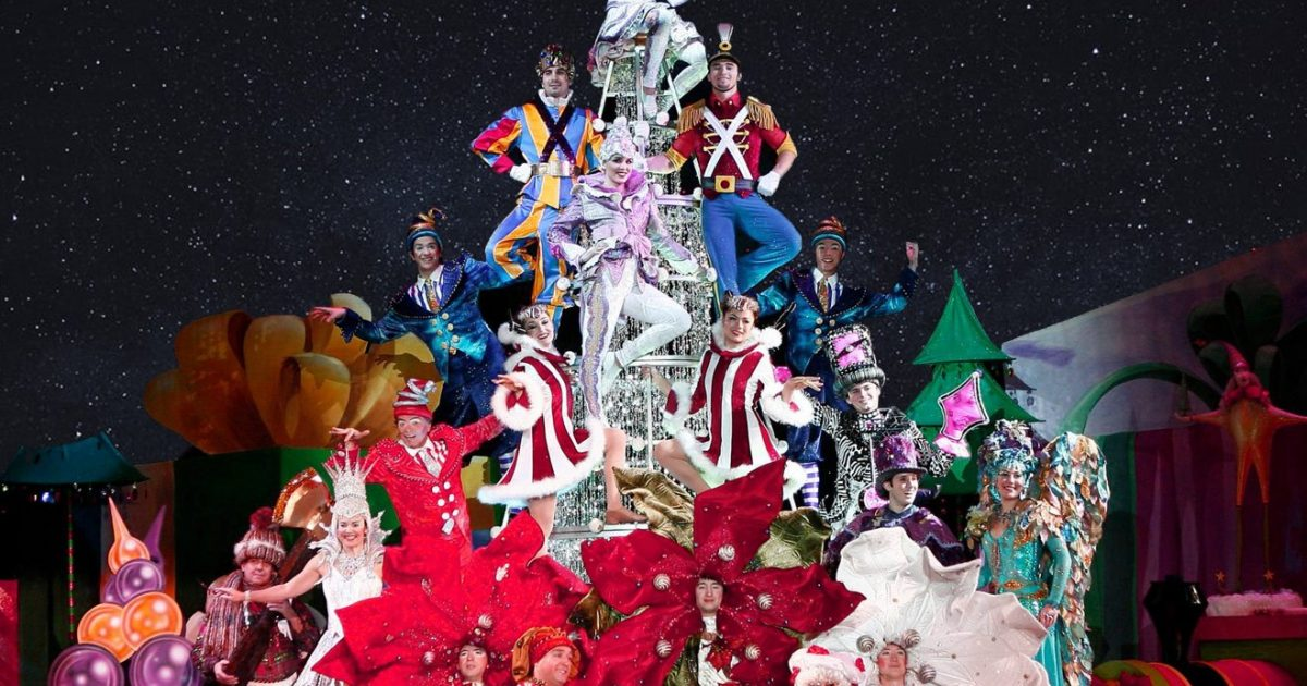 Cirque Christmas.Twas The Night Before By Cirque Du Soleil Discount