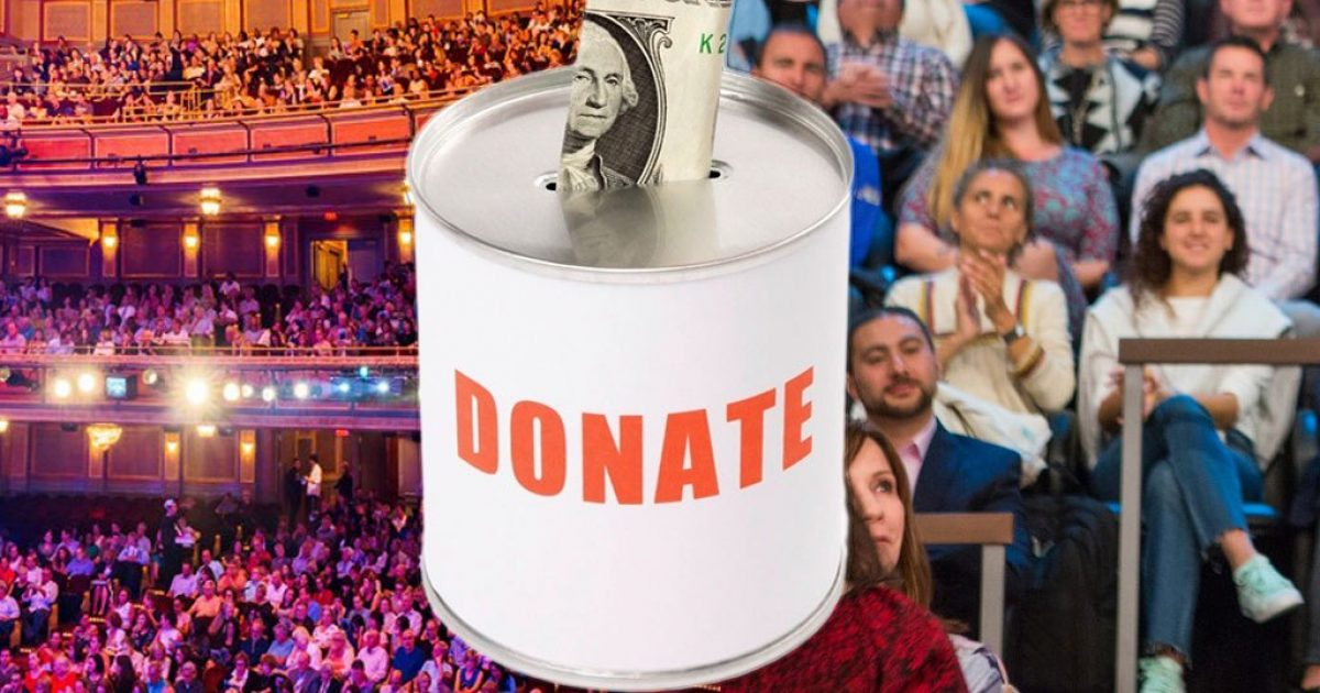 Free Charity and Fundraiser for Broadway Show Tickets