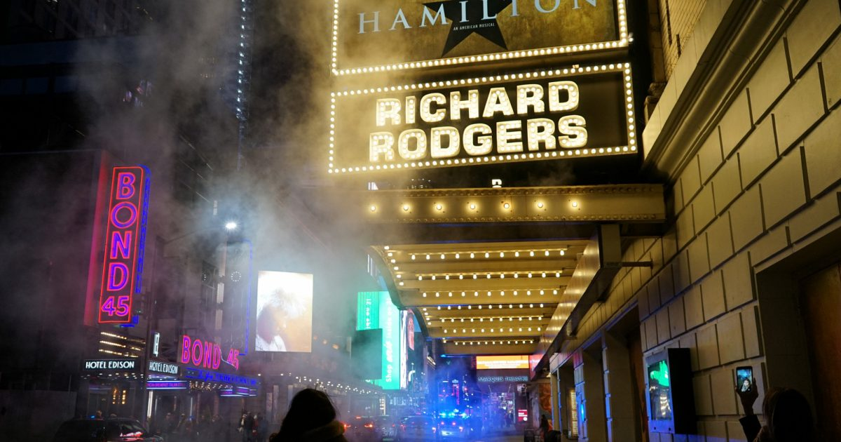 Hamilton Considers Stunt to Reopen Broadway Show on July 4th, 2021