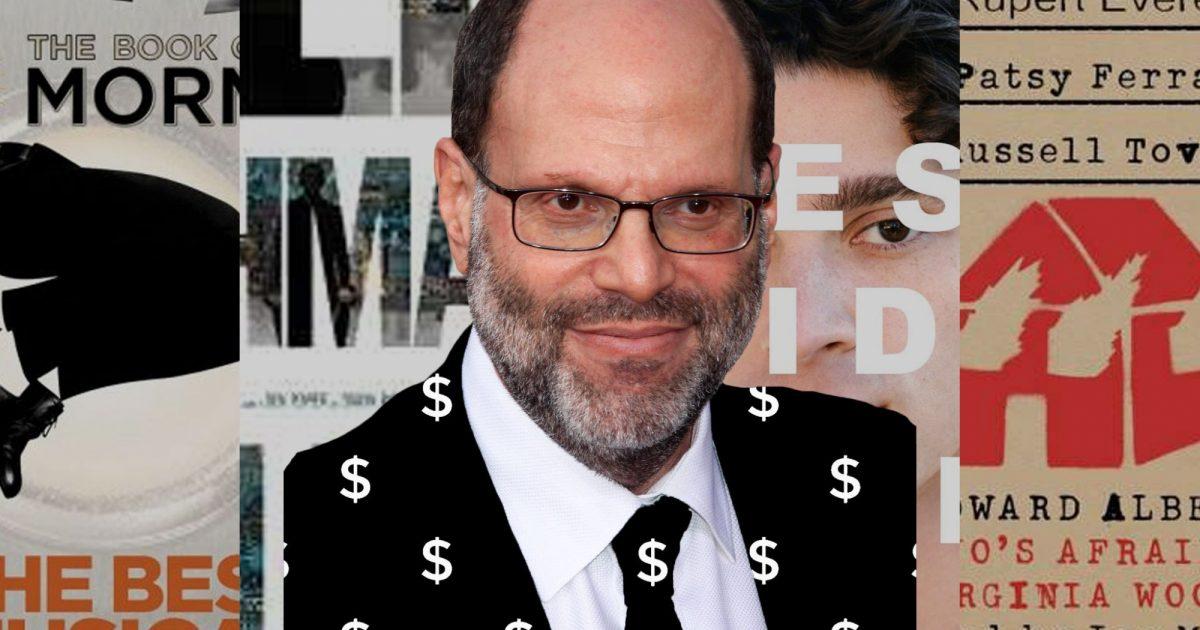 Scott Rudin Slashes Ticket Prices To Broadway Shows Due To Coronavirus