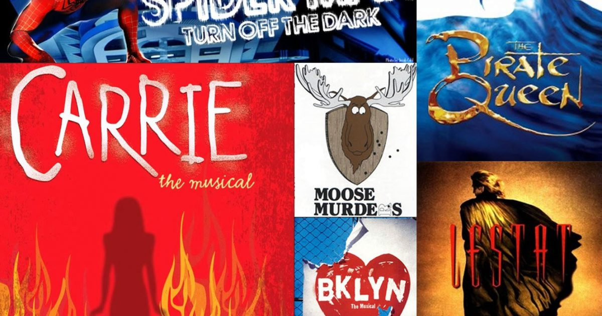 The Top Ten Worst Broadway Shows Ever Made