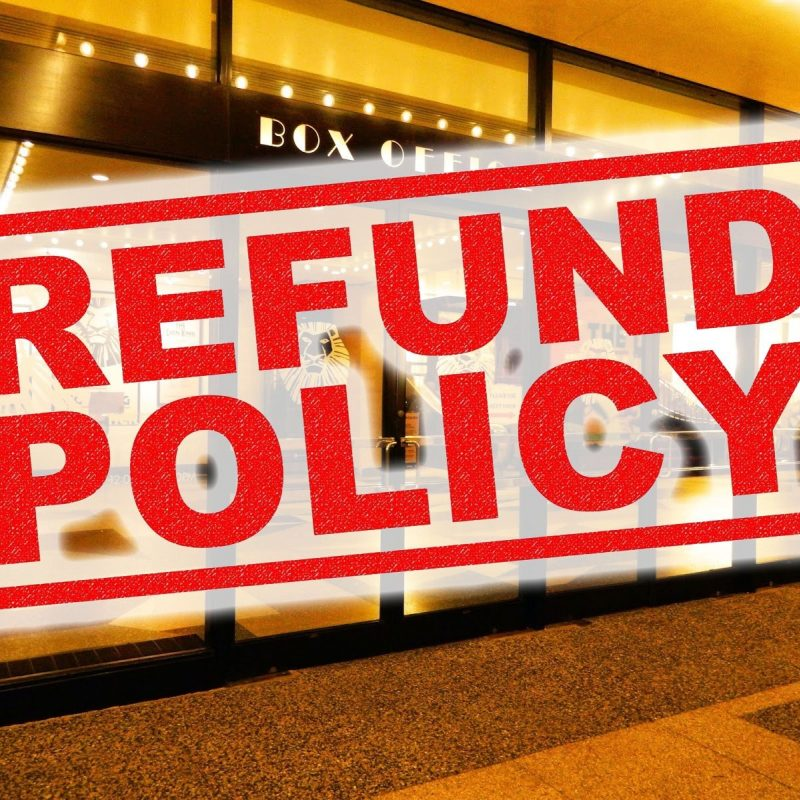 Broadway Ticket Refunds And Cancellations