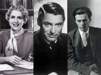 Clare Boothe Luce, Carey Grant, and Aldous Huxley are the three main characters of Flying Over Sunset