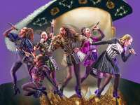 The Six Queens of England in Broadway Show Six