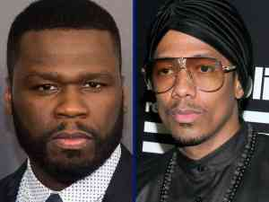 Rapper 50 Cent and Nick Cannon both have their own TV shows