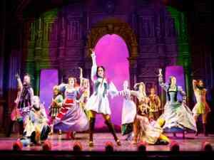 Broadway Show Head Over Heels