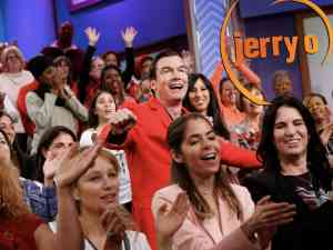 Jerry O'Connell in the audience during his new talk show Jerry O'