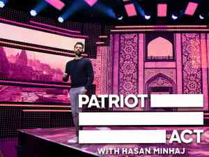 Patriot Act with Hasan Minhaj on Netflix