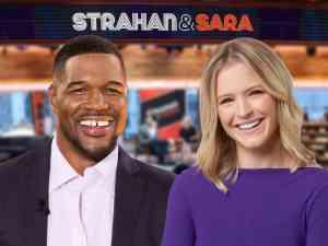 Michael Strahan and Sara Haines