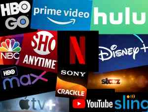 All of the Online Video Streaming Services