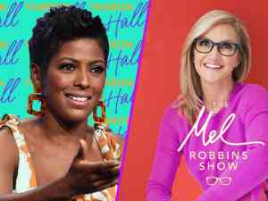 Tamron Hall and Mel Robbins Begin Taping Morning Talk Shows in NYC