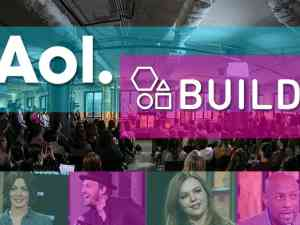 Live taping of AOL Build Show