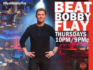 Bobby Flay hosts competitive cooking show Beat Bobby Flay