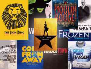 Best Broadway Shows 2019 Show Posters