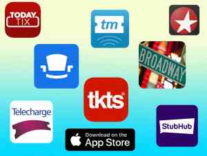 Broadway Ticket Apps