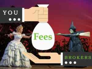 Broadway Broker Ticket Fees