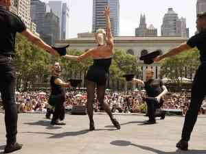 Bryant Park Shows at Lunchtime