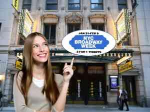 NYC Broadway Week AKA Fortnight
