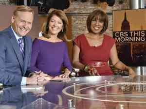 Hosts of CBS This Morning news and talk show