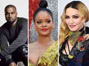 Rihanna, Kanye West, Madonna Broadway