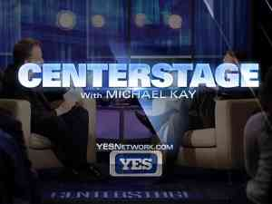 Centerstage with Michael Kay Logo