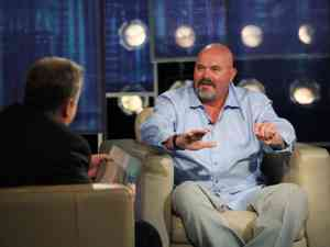 Ex-Yankees pitcher David Wells appears on CenterStage with Michael Kay