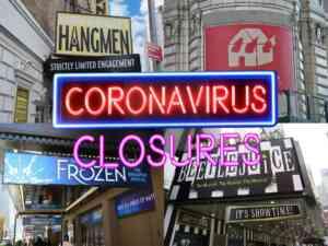 Broadway Shows Closed due to Coronavirus